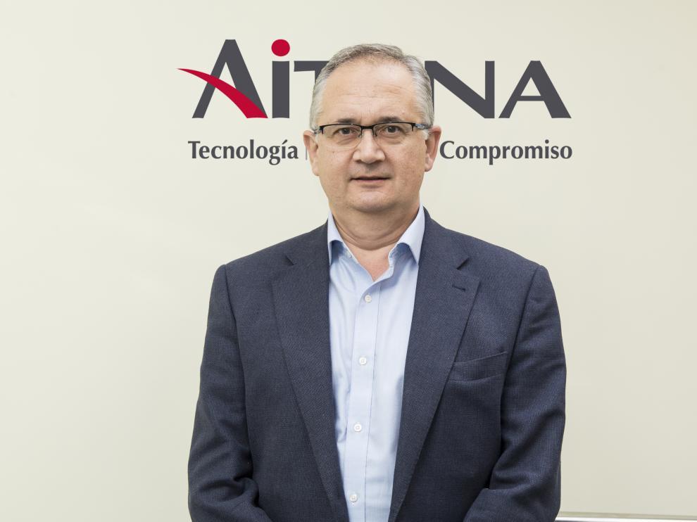 Luis de Bona, director de AITANA en Aragón.