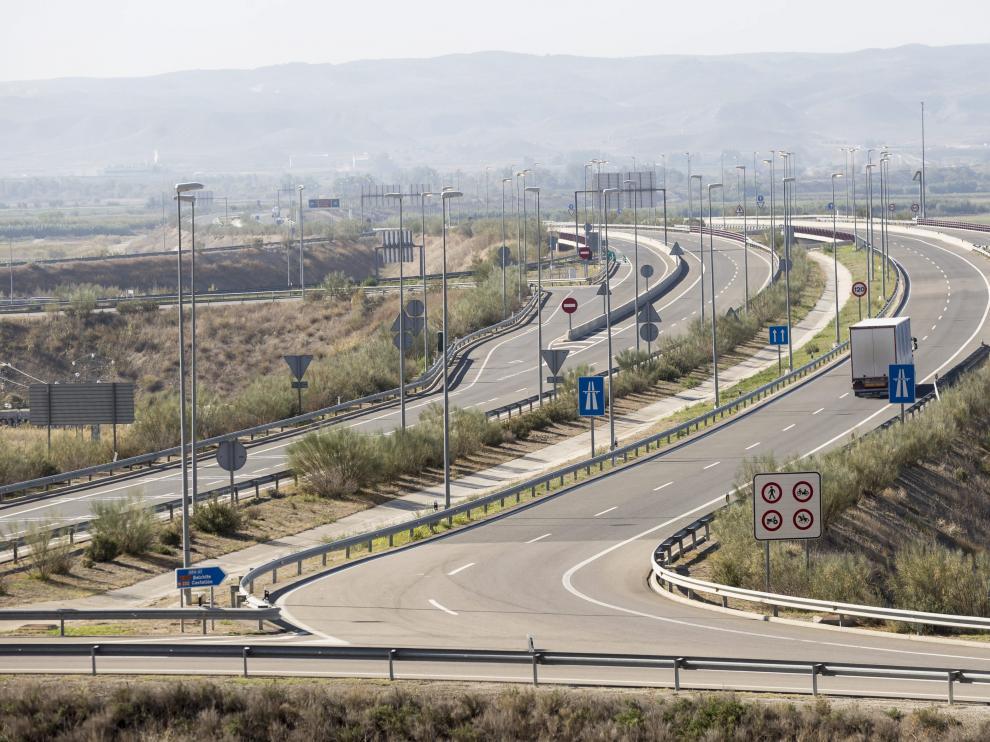 Los cálculos de tráfico de la autopista ARA-A1 nunca se han cumplido desde su apertura en 2008.