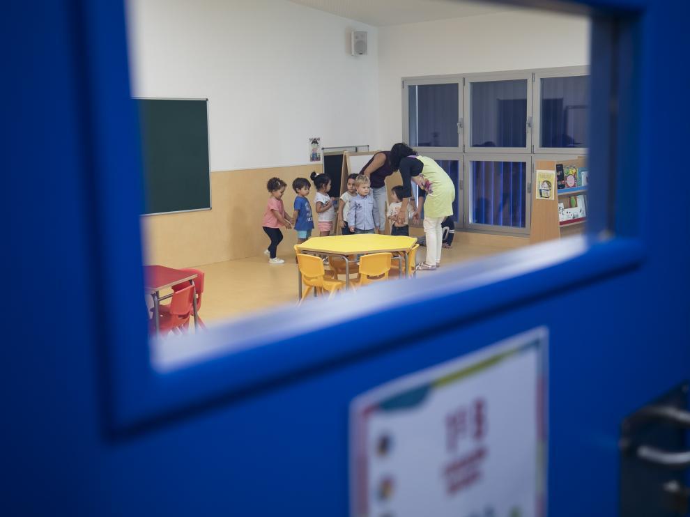 COLEGIO INFANTIL Y PRIMARIA PAEQUE VENECIA ( ZARAGOZA ) / VUELTA AL COLE / 10/09/2019 / FOTO : OLIVER DUCH [[[FOTOGRAFOS]]]