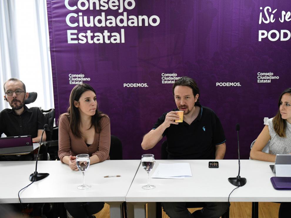 """Iglesias expresa respeto a Errejón pero Podemos eligió un """"camino distinto"""""""