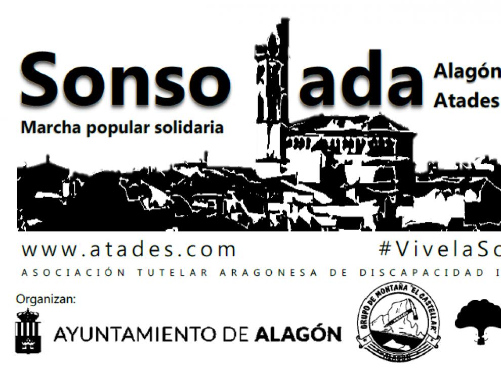 Todo a punto para la II Marcha Popular Sonsolada a beneficio de Atades