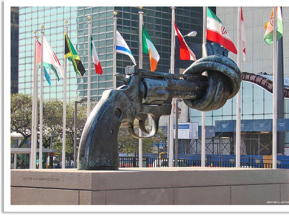 Los Tesoros y las curiosidades que esconden los pasillos de Naciones Unidas