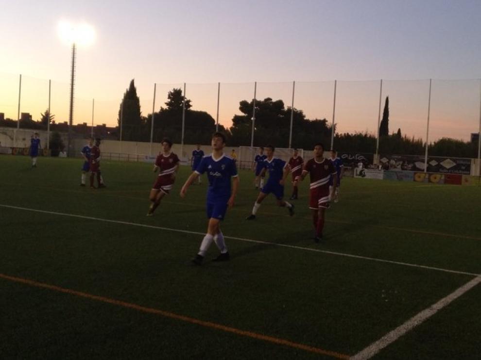Fútbol. LN Juvenil- Valdefierro vs. Giner.