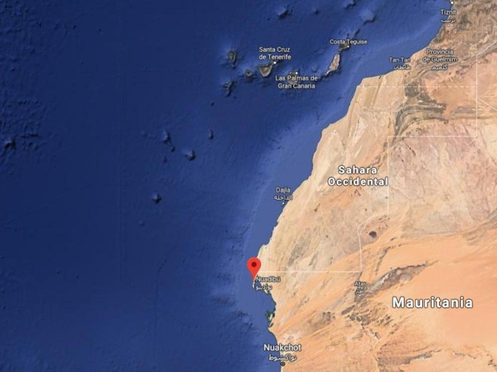 La Guardia Civil impide la salida de dos cayucos en Mauritania dirigidos a Canarias