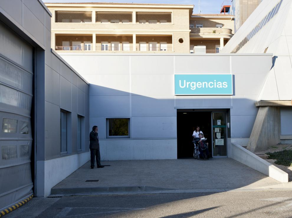 Urgencias del Hospital Royo Villanova/19-11-2012/ Foto: Asier Alcorta