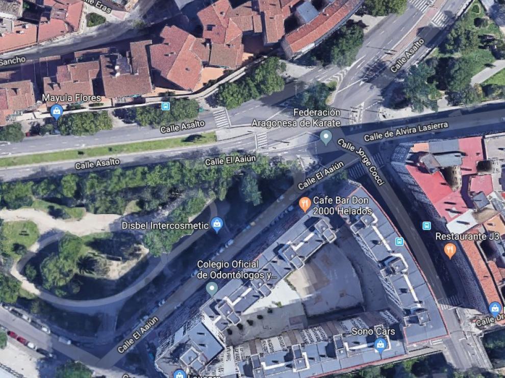 El accidente ha tenido lugar en las calles Jorge Cocci y Asalto.