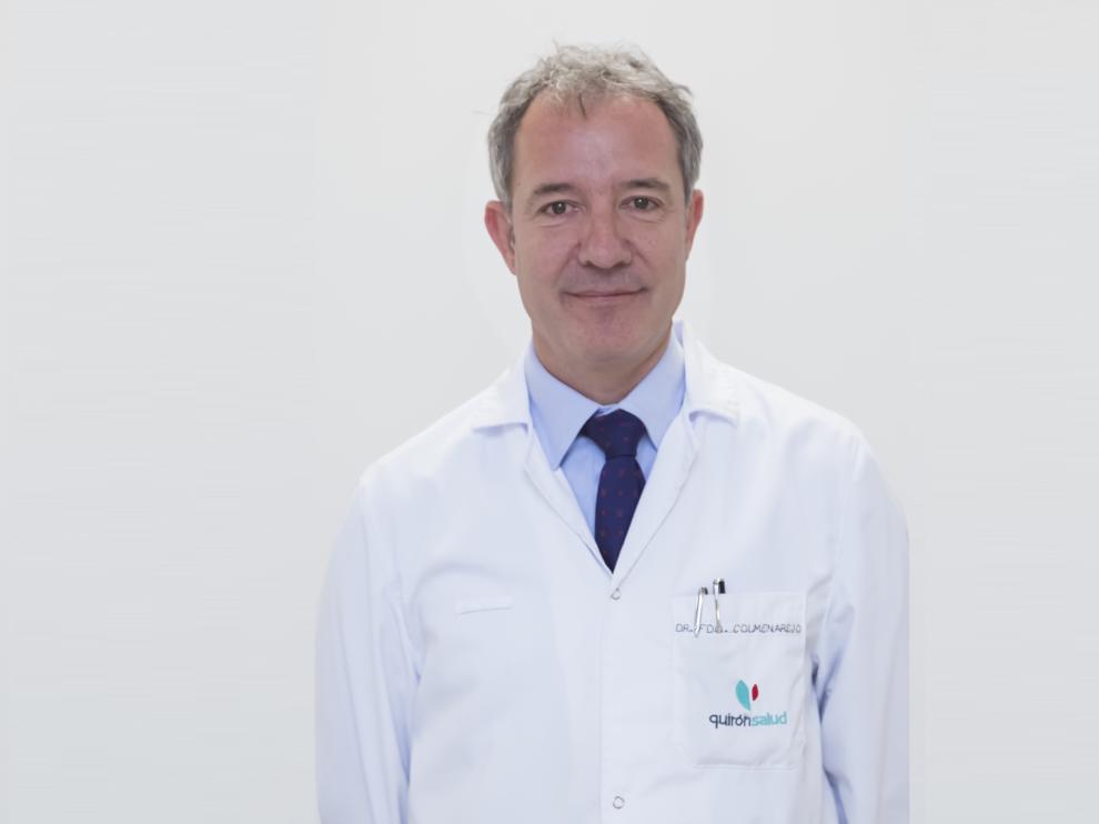 El doctor Fernando Colmenarejo González, especialista en obstetricia y ginecología.