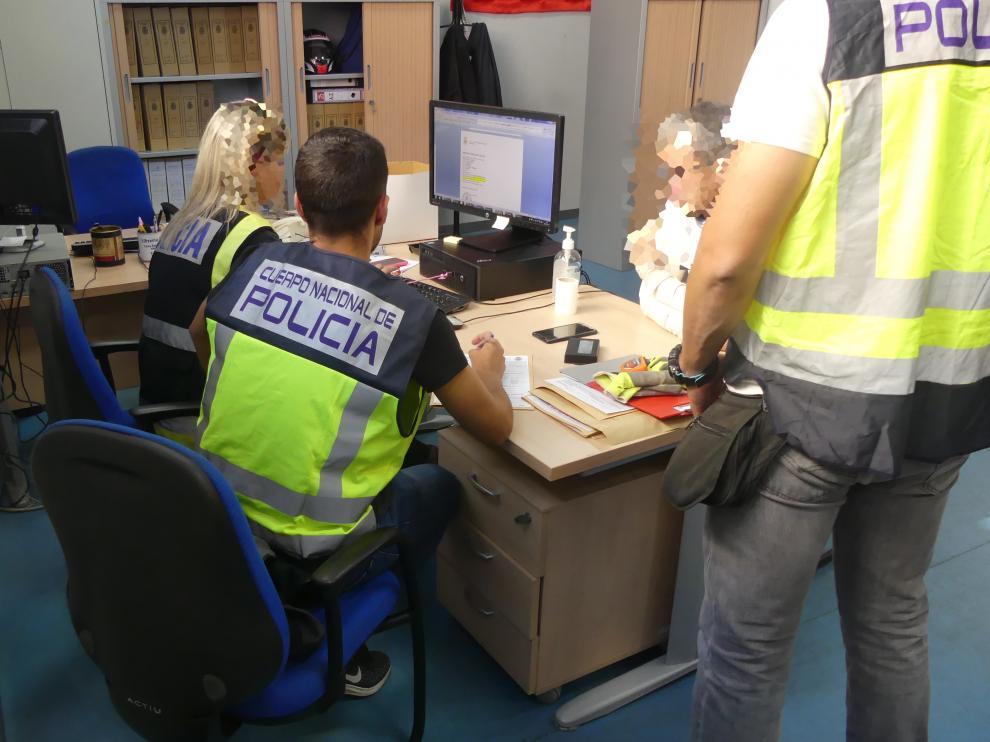 La Policía Nacional desarticula una red organizada de prostitución y tráfico de drogas en Zaragoza