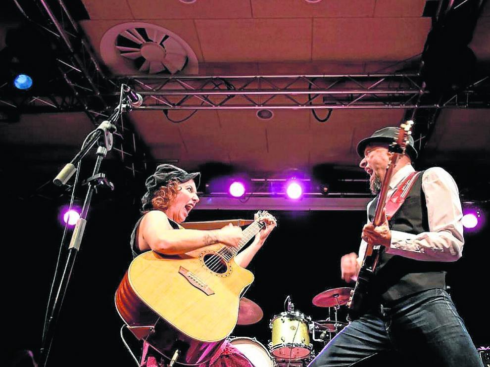 El dúo Sweet Lorraine cerrará el Festival Blues Moon de Zaragoza el 27 de octubre