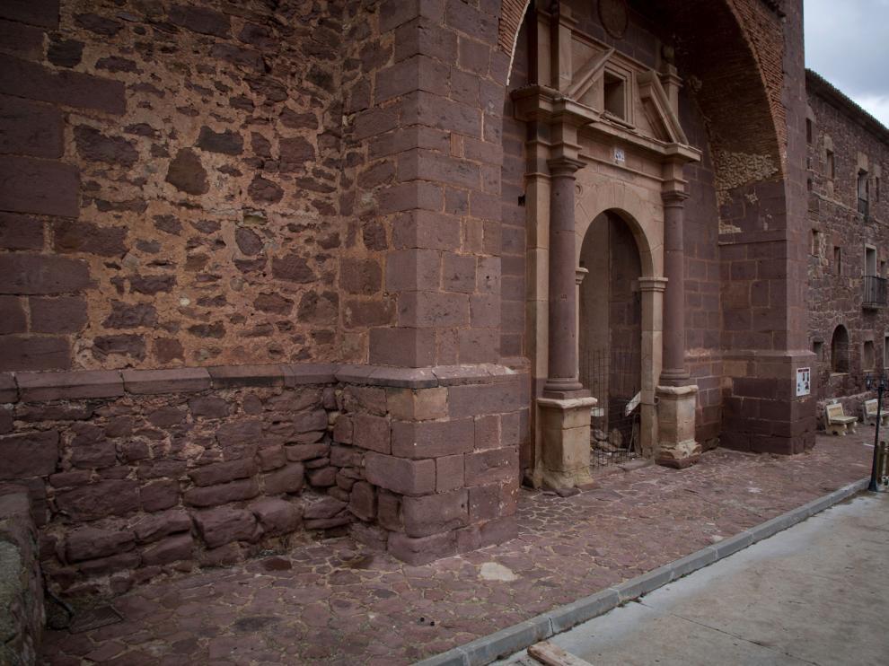 El convento de Gotor es una de las paradas de la ruta.
