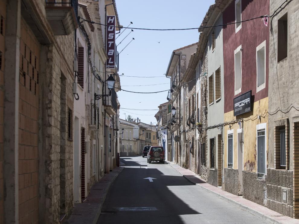 Imagen de archivo de una calle de La Muela.