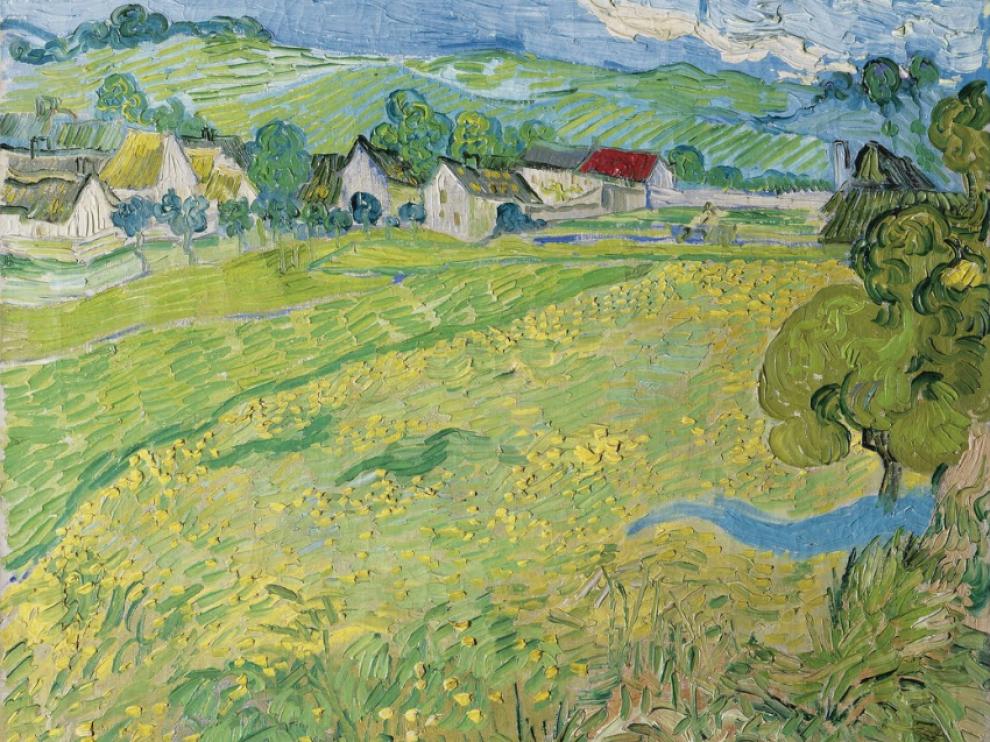 'Les Vessenots' en Auvers, de Vincent van Gogh