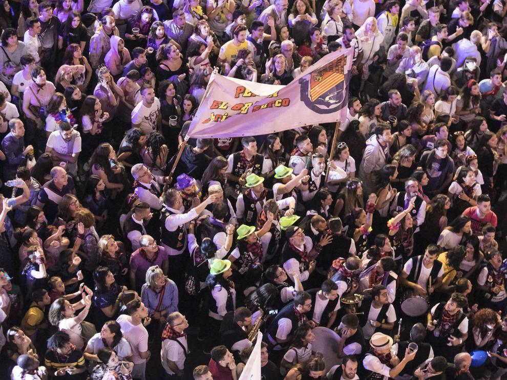 Pregón y desfile de las fiestas del Pilar de Zaragoza de 2018