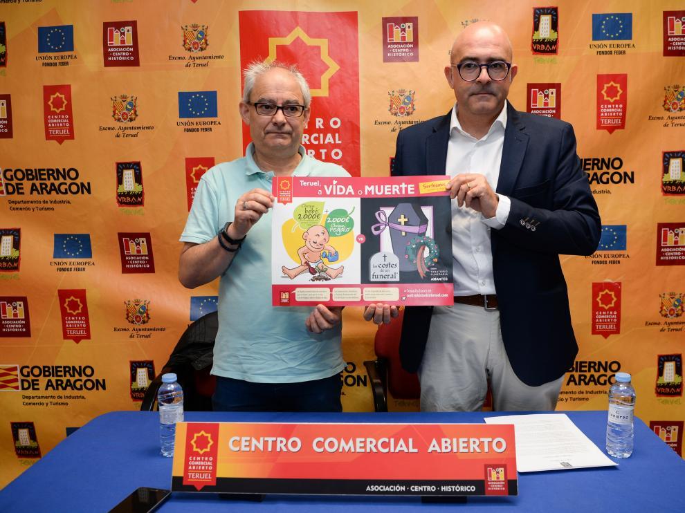 Presentación de la campaña del Centro Comercial Abierto de Teruel.