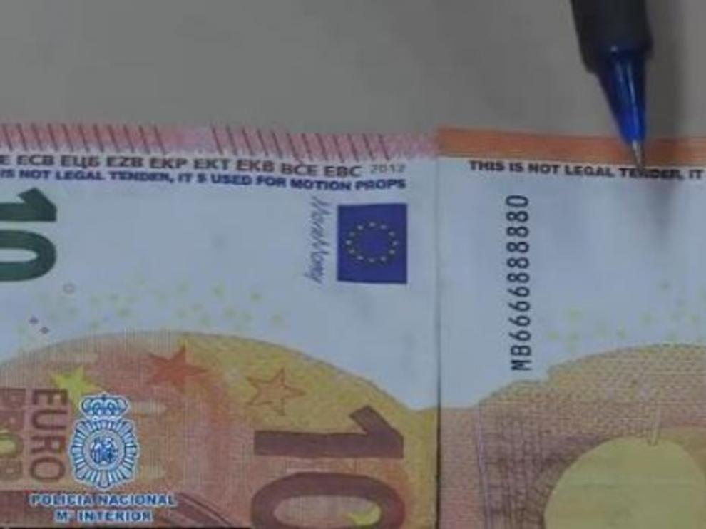 Alerta por la aparición de billetes falsos en España.