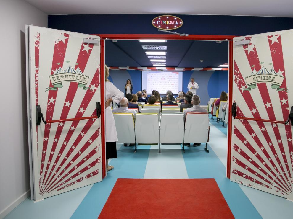 En la nueva sala de cine se han invertido 60.000 euros.