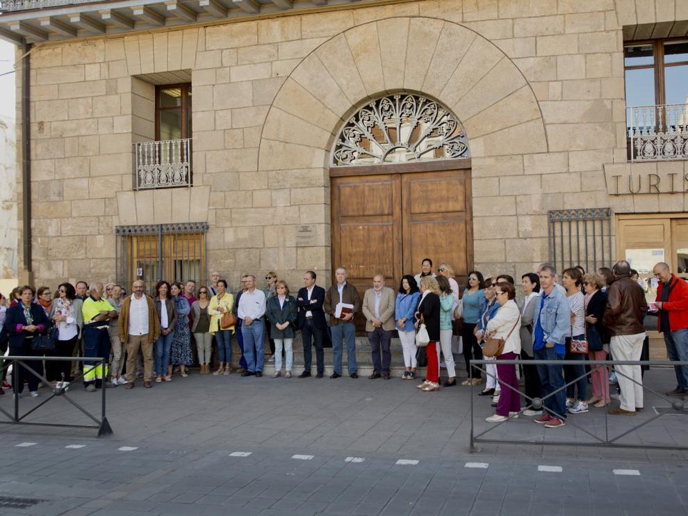 Concentración en Calatayud por la España Vaciada.