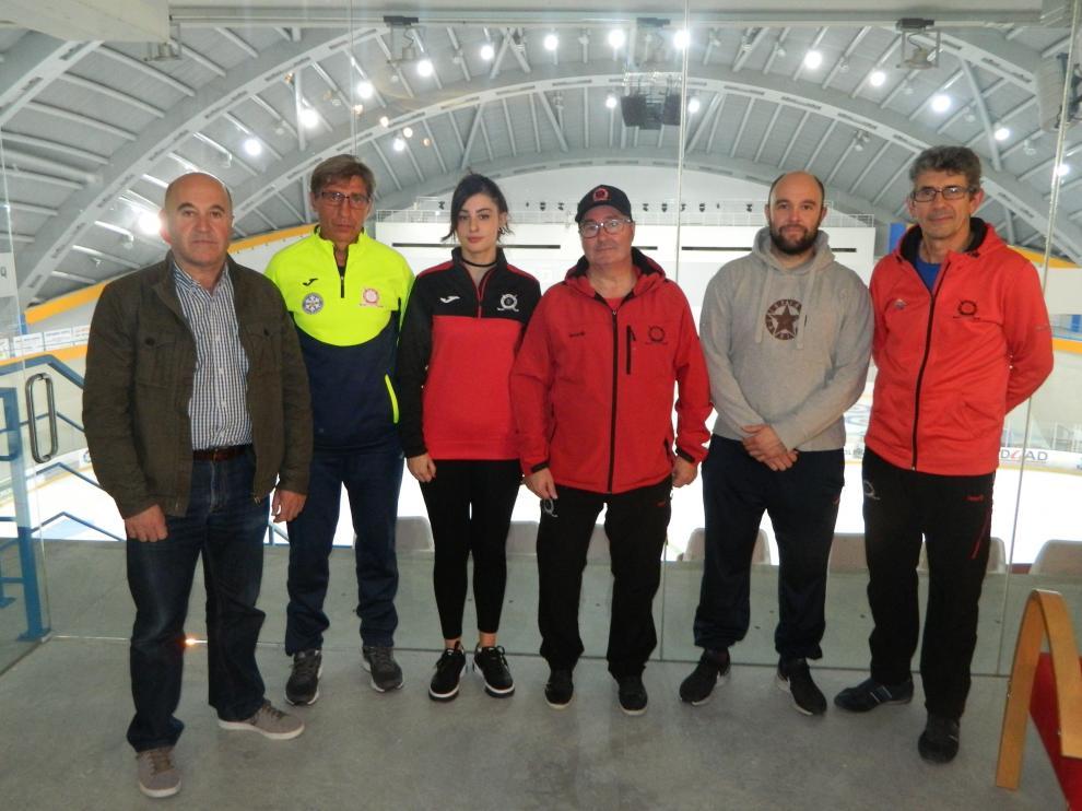 De izquierda a derecha, Antonio Betrán, Sergey Zemchenko, Elena Paules, Manolo Santoro, Guillermo Betrán y José Antonio Rivero.