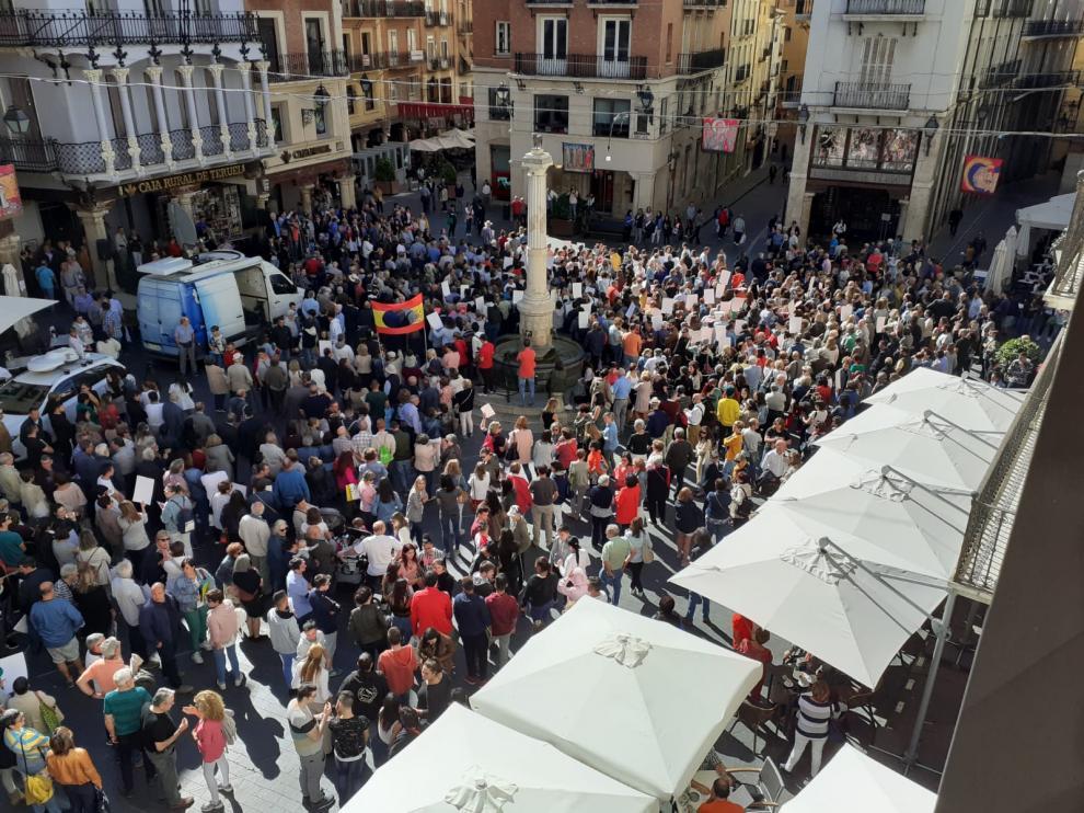La 'España vaciada' se detiene cinco minutos