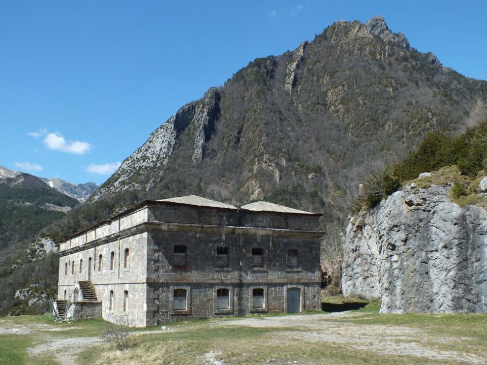 La construcción originaria del fuerte de Santa Elena data del siglo XVII.