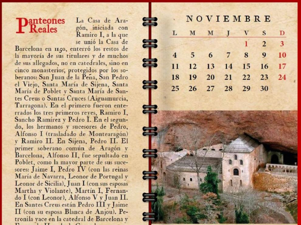Imagen correspondiente al mes de noviembre del calendario