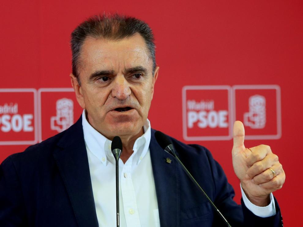 José Manuel Franco, secretario general del PSOE madrileño.