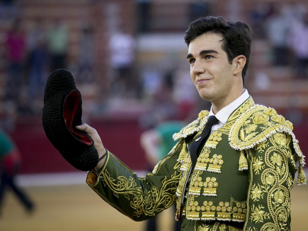 Tomás Rufo, en Zaragoza.