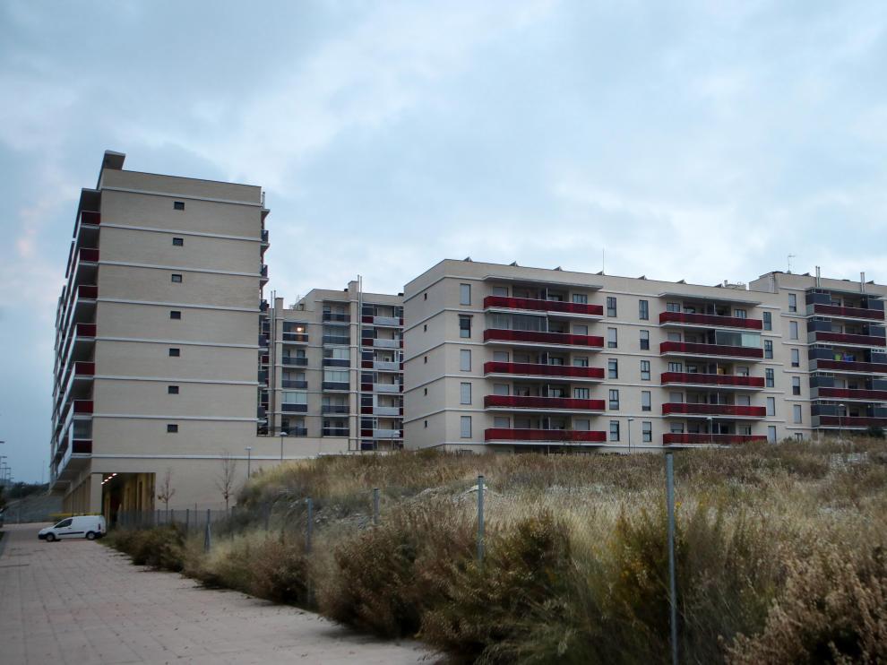 Los afectados viven en estos bloques de Arcosur.