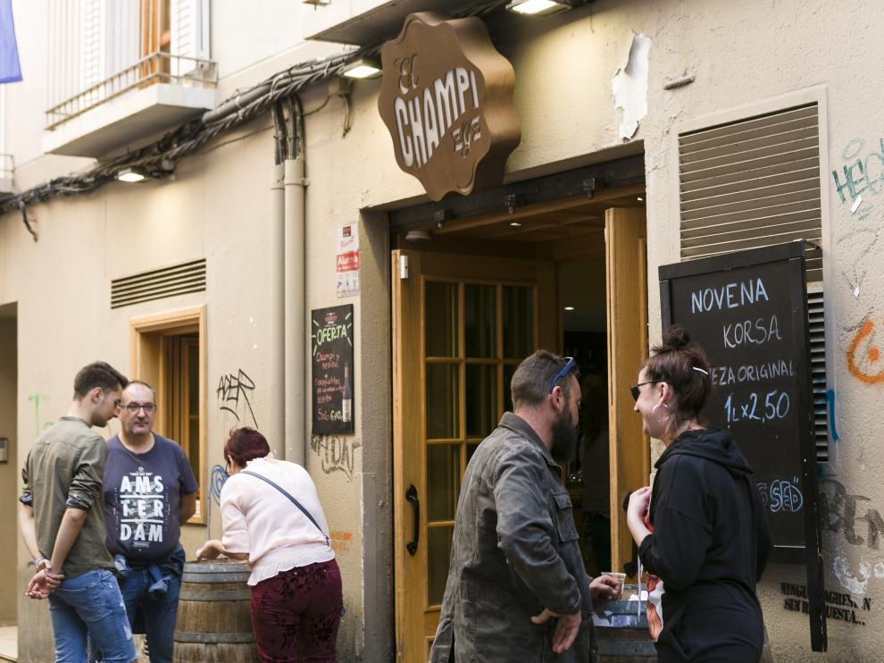 Fiestas del Pilar. De tapas en El Tubo de Zaragoza