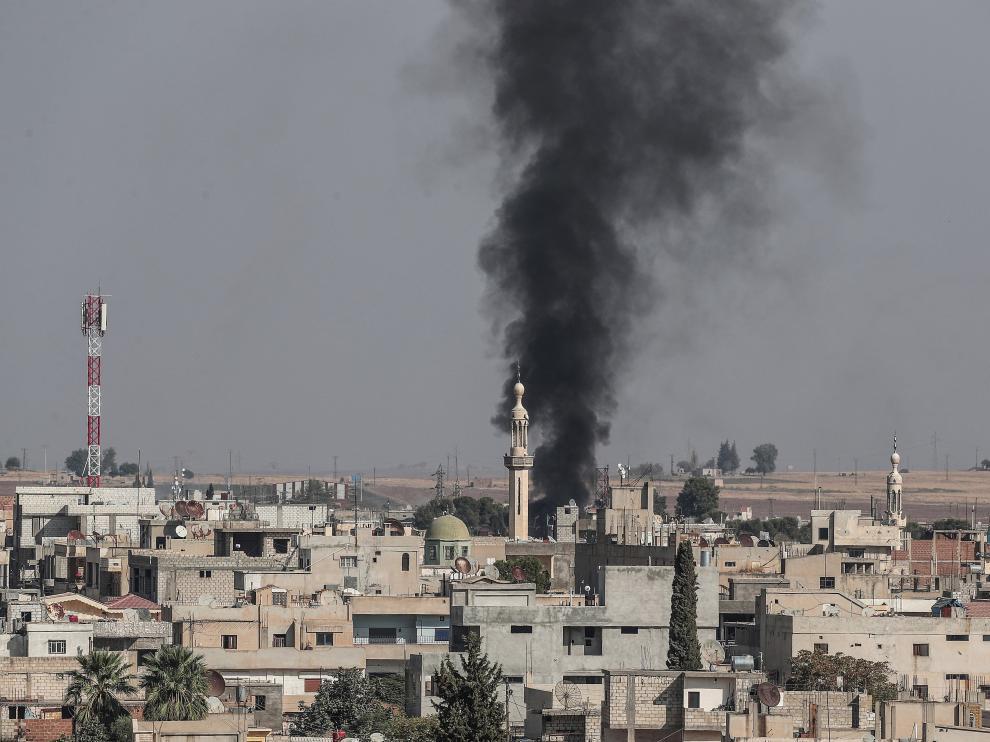 Las ONG advierten de que la ofensiva turca en Siria pone en peligro inminente a 450.000 personas.