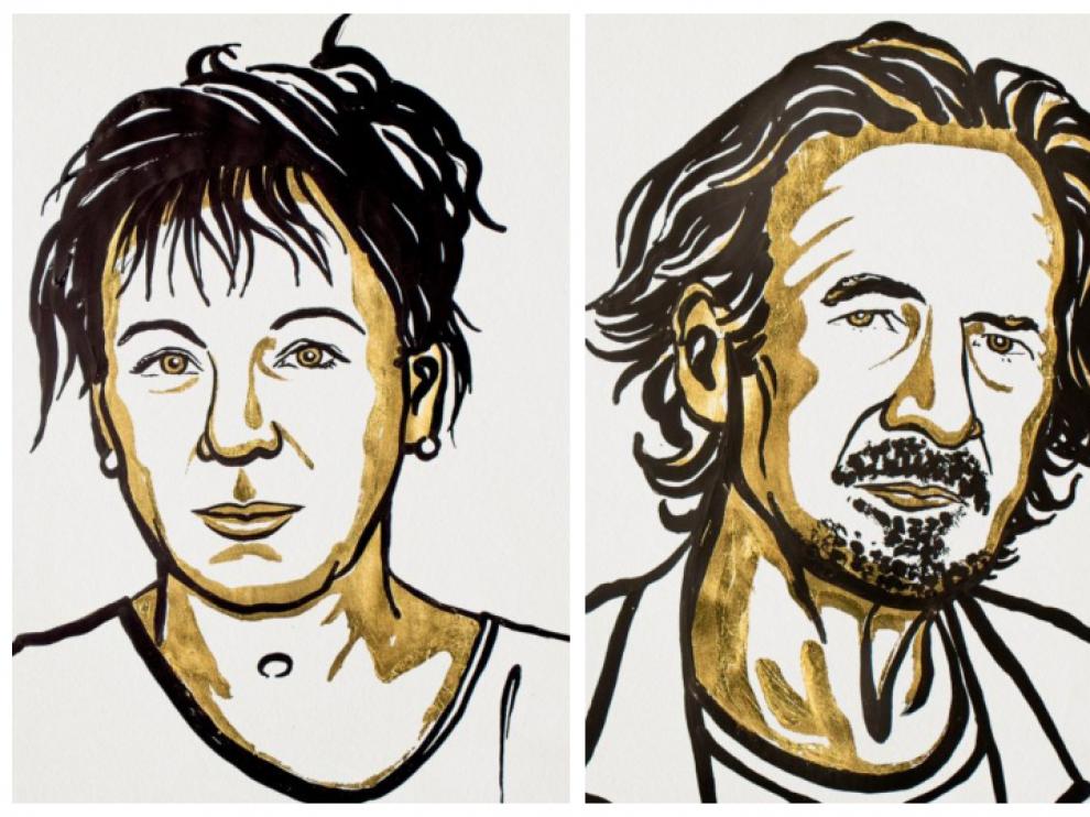 Peter Handke y Olga Tokarczuk ganan el doble Premio Nobel de Literatura de 2018 y 2019