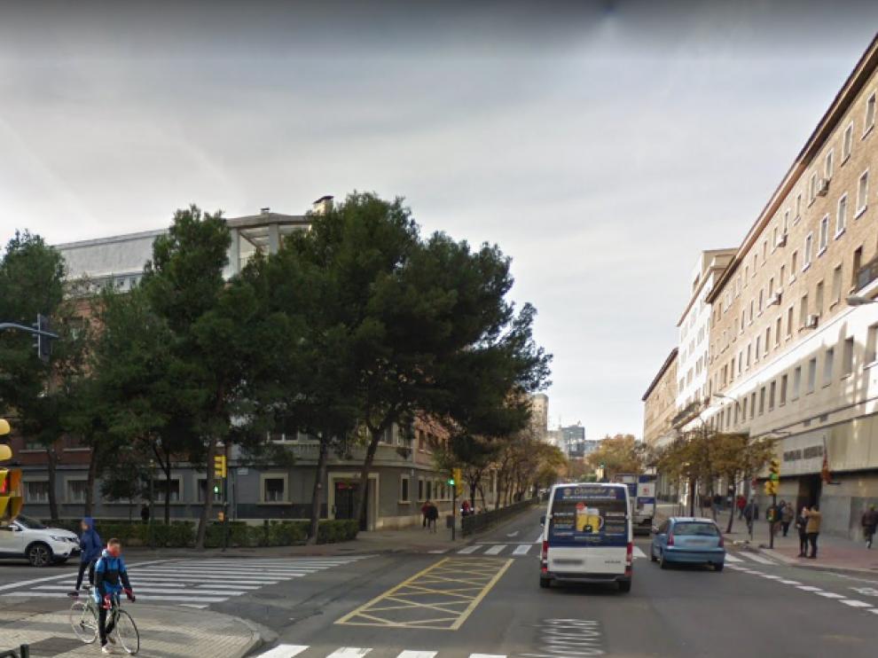 El atropello se produjo en la avenida de Valencia a la altura de la calle Bretón