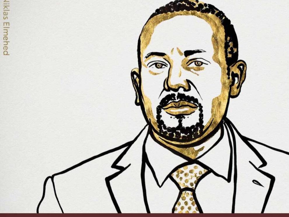 El Comité Noruego ha premiado con el Nobel de la Paz al primer ministro de Etiopía, Abiy Ahmed, por su acuerdo de reconciliación con la vecina Eritrea.