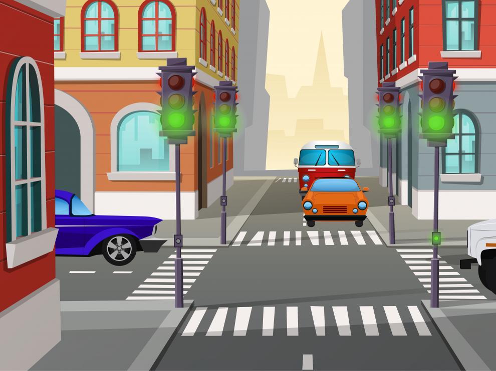 El control del tráfico, vital en las grandes ciudades