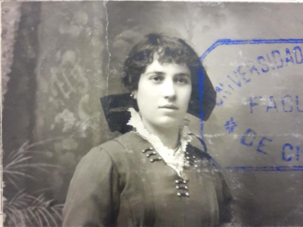Donaciana Cano Iriarte, en la foto de su expediente