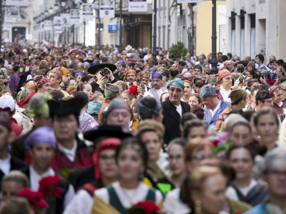 Cada año, tal día como hoy, las calles de Zaragoza se llenan de emoción.