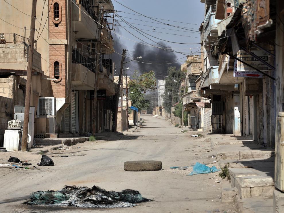 Una de las zonas al norte de Siria donde Turquía ha lanzado su ofensiva.