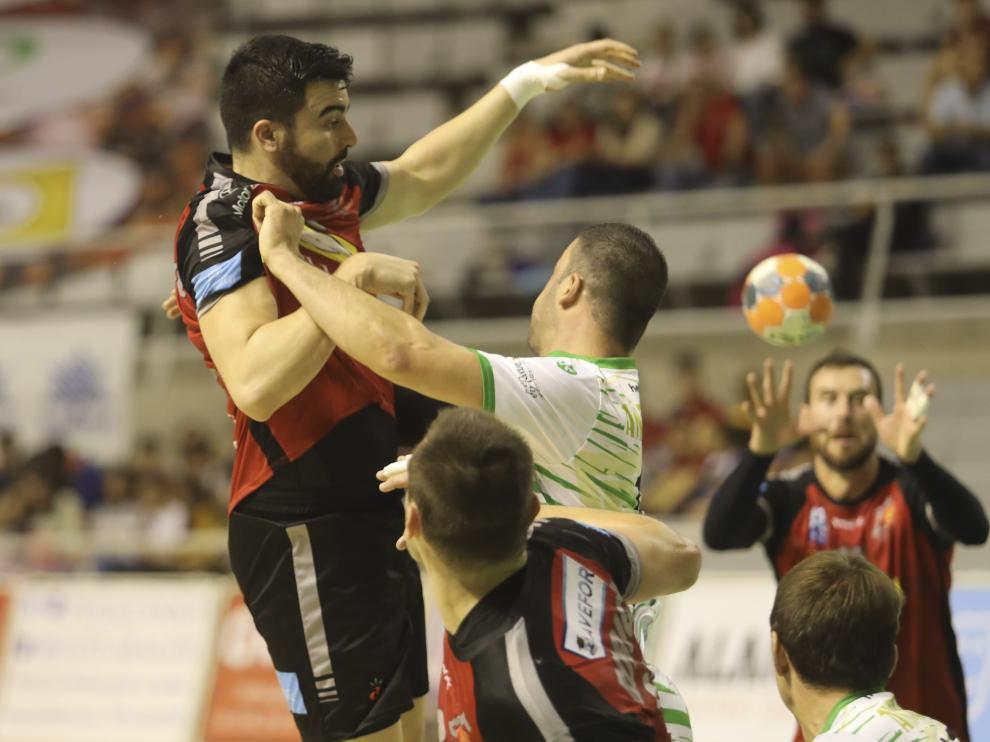 Partido balonmano Bada-Anaitasuna. / 12-10-19 / Foto Rafael Gobantes [[[FOTOGRAFOS]]]