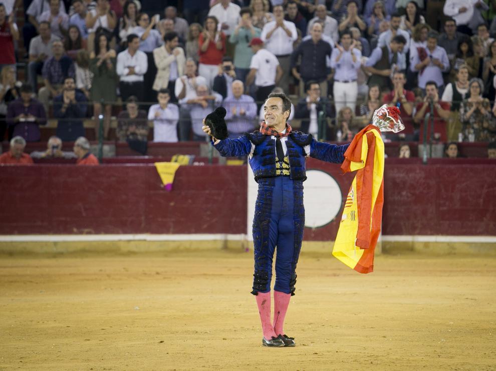 El Cid se despidió de Zaragoza por todo lo alto.