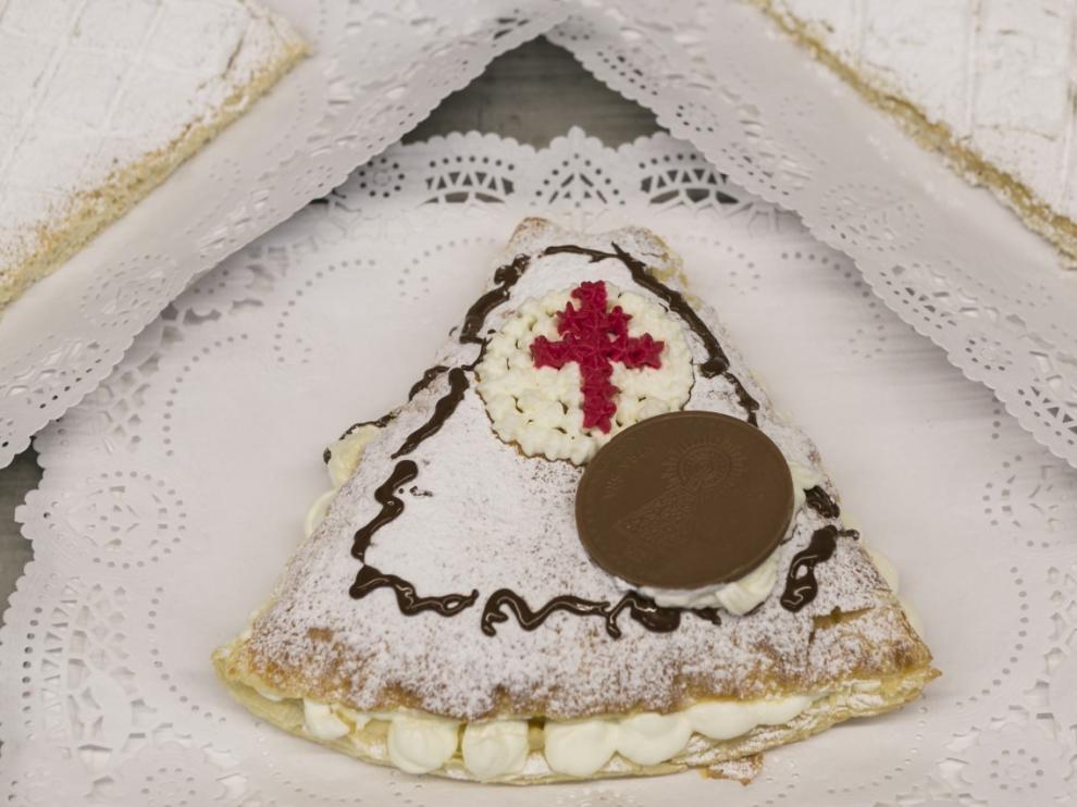 Receta del postre del Manto de la Virgen del Pilar