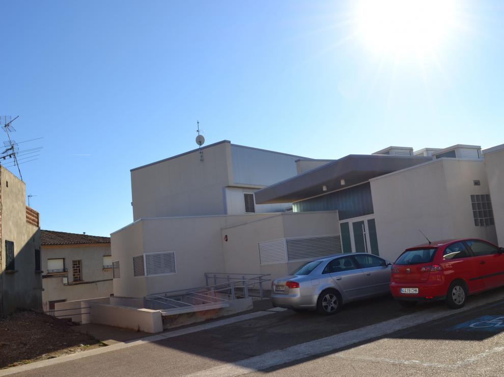 Imagen del exterior de la residencia de ancianos de Biota.
