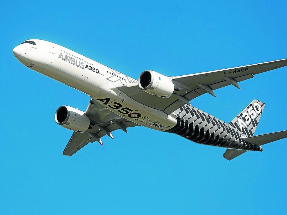 Las ayudas al desarrollo del A350 y A380 de Airbus están en el origen de los aranceles de EE. UU. a productos agroalimentarios.