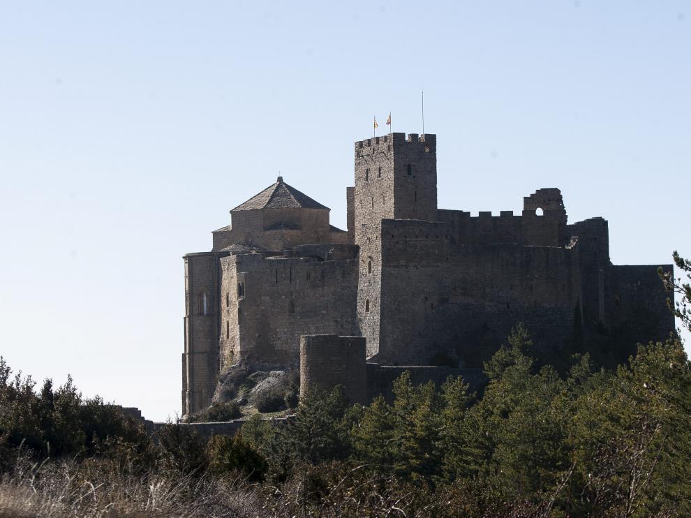 Castillo de Loarre en la provincia de Huesca