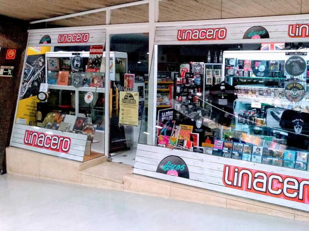 La actual tienda Linacero, ubicada en El Caracol, en el paseo Independencia.