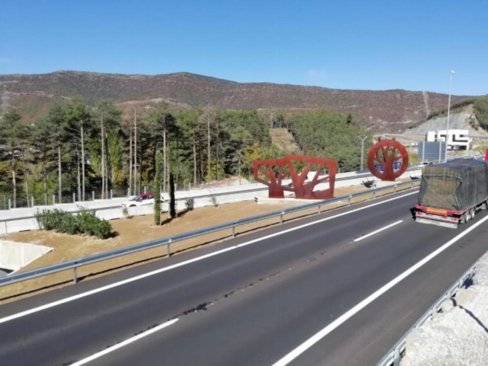 Fomento pone en servicio el tramo de la A-23 entre Congosto de Isuela y Arguis