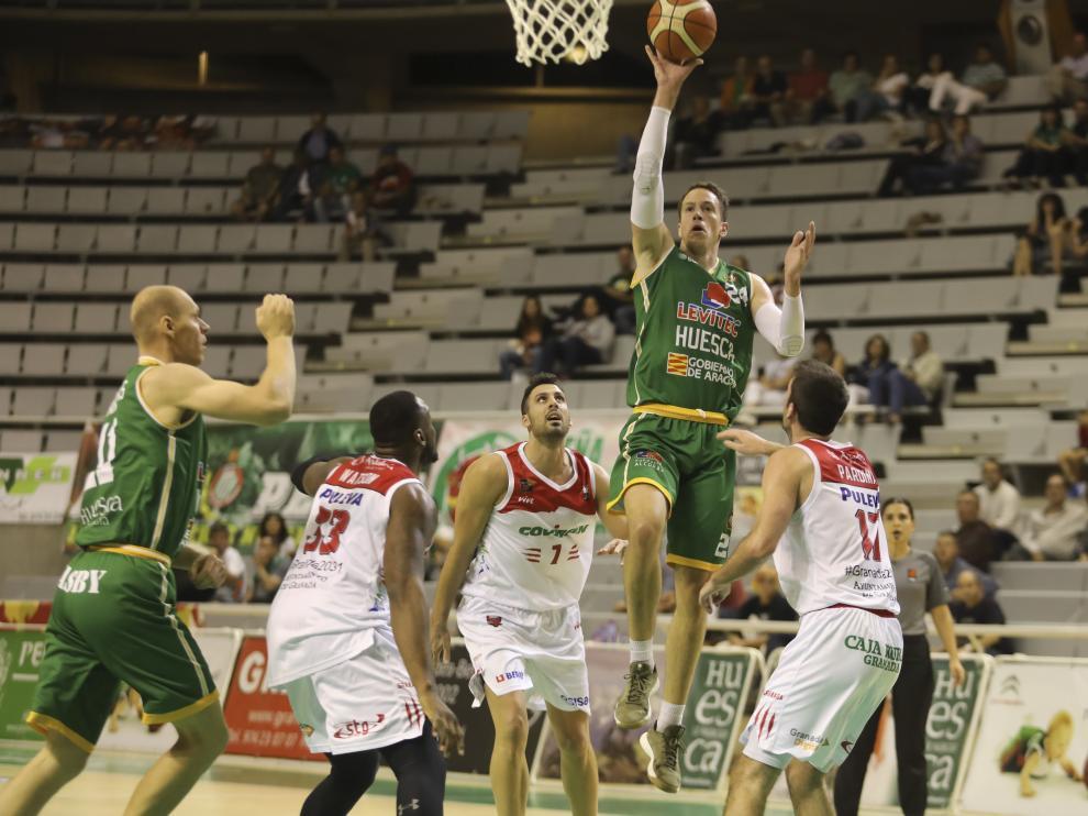 Partido baloncesto Levitec-Granada/ 4-10-19 / Foto: Rafael Gobantes [[[FOTOGRAFOS]]]