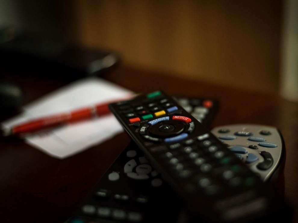 televisión, mando televisión