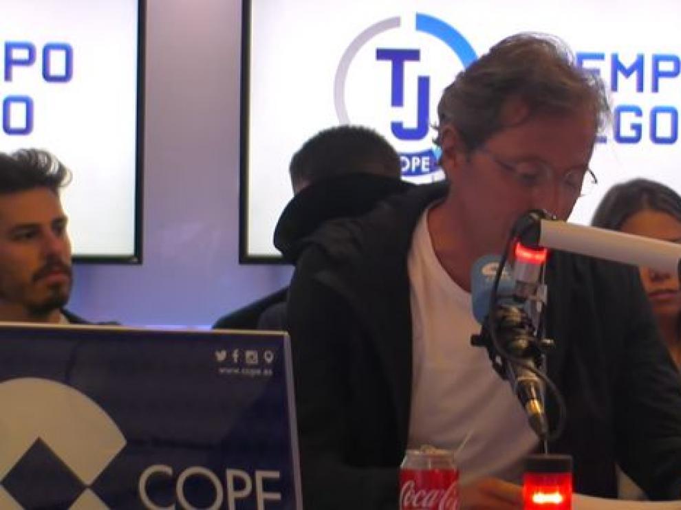 Paco González durante el programa 'Tiempo de juego'