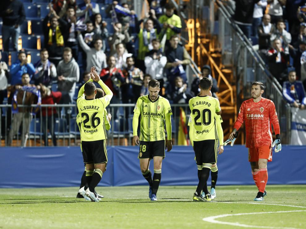 Fuenlabrada-Real Zaragoza.