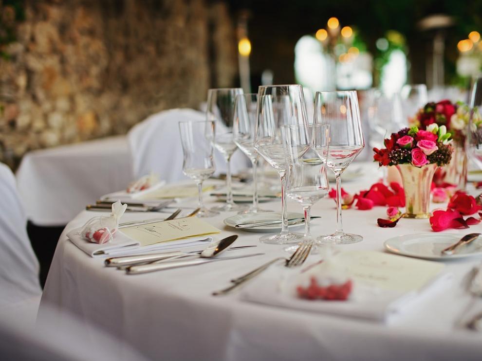 Uno de los detalles que se cuidan minuciosamente es la decoración de la mesa.